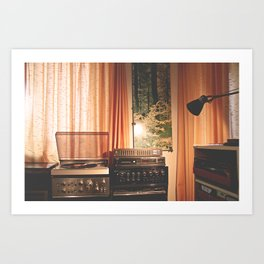 sound of home Art Print