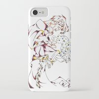 wizard iPhone & iPod Cases featuring Wizard by Party Moth