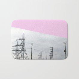 Pink Pylons Bath Mat