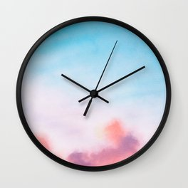 An Epic Sky Over Us Wall Clock