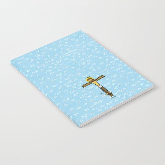 Jesus smiling Notebook