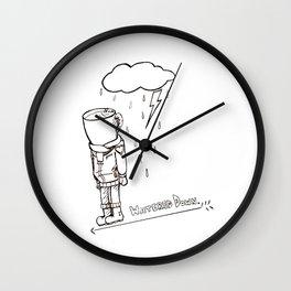 Coffee Bloke Wall Clock