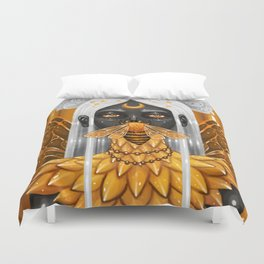 Bee Queen Duvet Cover