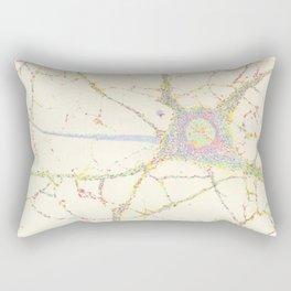 Neuron, brain cell. Rectangular Pillow
