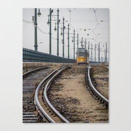 Commute. Canvas Print