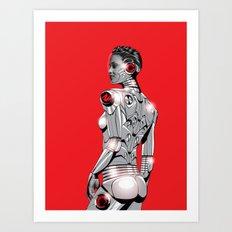 Life On Mars #1 Art Print