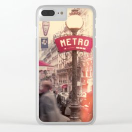 METRO Clear iPhone Case