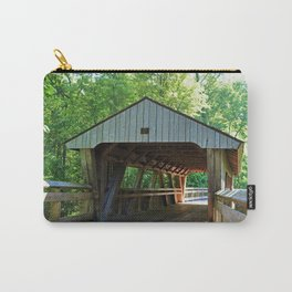 The Covered Bridge at Wildwood Carry-All Pouch