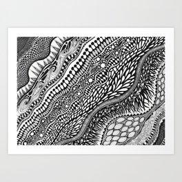 Sedimental Art Print