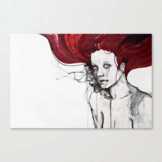 in the flesh Canvas Print