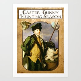 Easter Hunt Art Print