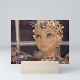 Button Fairy Mini Art Print
