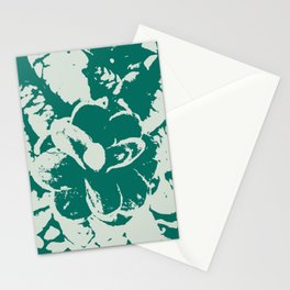 green Pine cones Stationery Cards