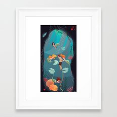 Saved Sailor Framed Art Print