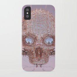 golden skull iPhone Case