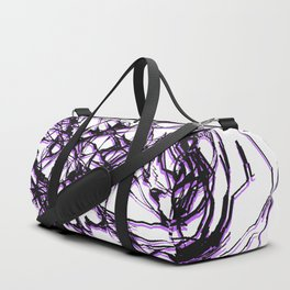 Black & Purple Duffle Bag