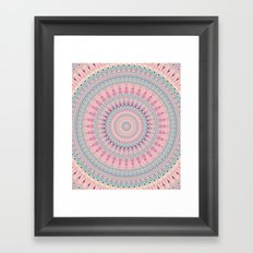 Mandala 491 Framed Art Print