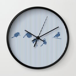 Hidden cage Wall Clock