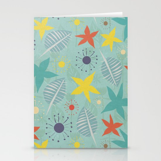 Tropical Fun Stationery Cards