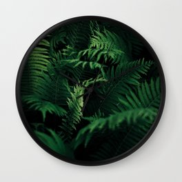 Green nature Wall Clock