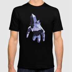 Crystal Golem Mens Fitted Tee Black SMALL
