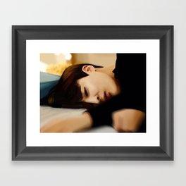 Jimin - Bts Framed Art Print