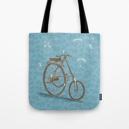 From up there Tote Bag
