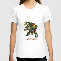 mexican T-shirts featuring mexican warrior by laika in cosmos
