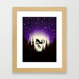 Moon Whip Framed Art Print