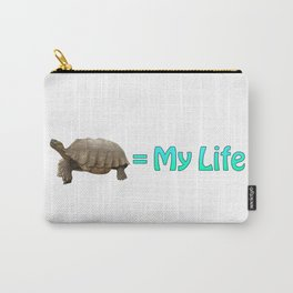 My Sulcata = My Life Carry-All Pouch