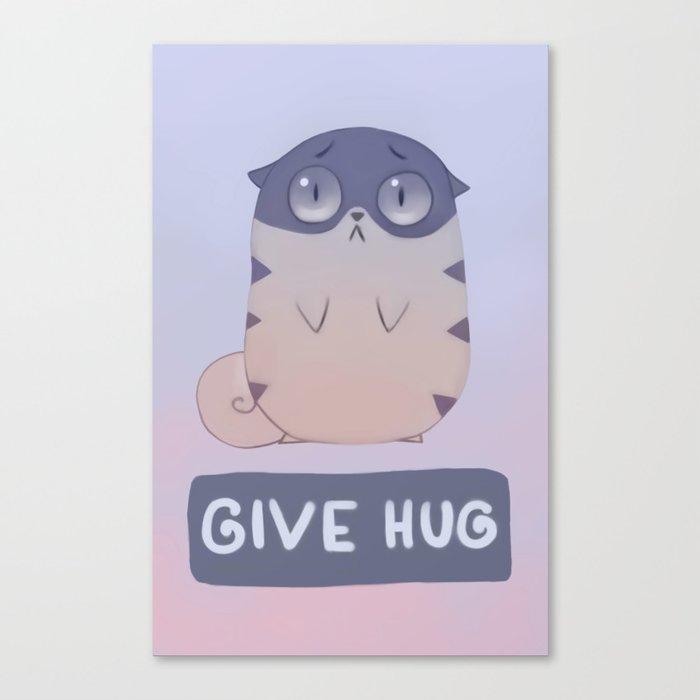 Boggart Hug Canvas Print