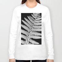 fern Long Sleeve T-shirts featuring Fern by Brian Raggatt