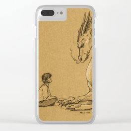 Strength of a Dragon Clear iPhone Case
