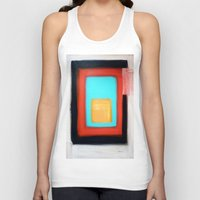rothko Tank Tops featuring Living Rothko by Heaven7