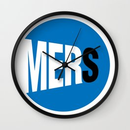 DgM MERS Wall Clock