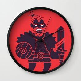 Barbarian Wall Clock