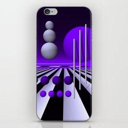 go violet -03- iPhone Skin