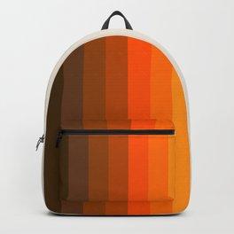 Retro Golden Rainbow - Straight Backpack