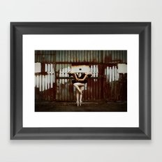 Never Miss a Chance to Dance Framed Art Print