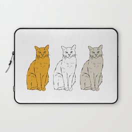 Tabby Row Laptop Sleeve