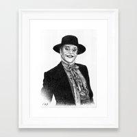 jack nicholson Framed Art Prints featuring jack nicholson jocker by calibos