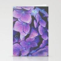 hydrangea Stationery Cards featuring Hydrangea by Christine Hall