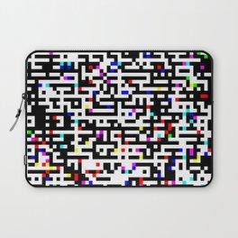 Abstract 8 Bit Pattern Laptop Sleeve