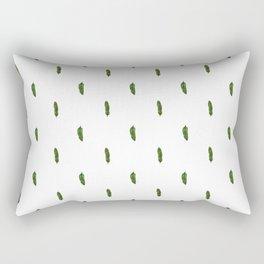 Banana Leaf (Mini) - White Rectangular Pillow