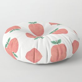 Apple my apple Floor Pillow