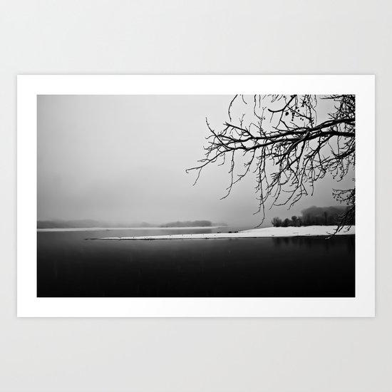 One Winter Morning Art Print