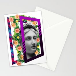 study of beauty Stationery Cards