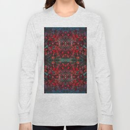 Emerald fall geometry V Long Sleeve T-shirt