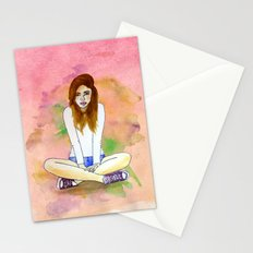 Mood today Stationery Cards