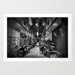 Inside Brixton Village. Art Print